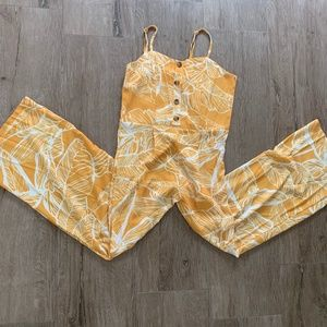 Other - Yellow Jumpsuit